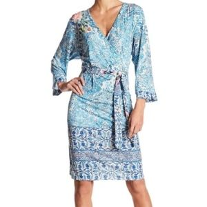 Johnny Was - Deleal Wrap - 3/4 Sleeves Dress